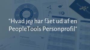 PeopleTools Personprofil