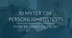 myter om personlighedstests